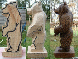 chainsaw carving for beginners featured