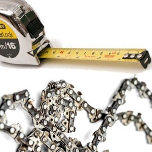 chainsaw chain sizes chart featured